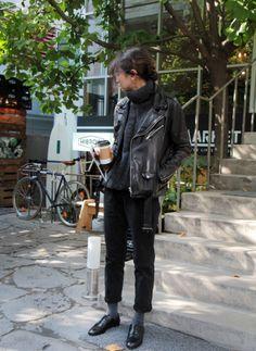 black biker | in asian style | @printedlove