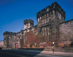 Eastern State Penitentiary in Philadelphia Pennsylvania is another old abandoned prison that has supposedly had many hauntings. This prison opened in 1829 and was the… Abandoned Prisons, Abandoned Buildings, Abandoned Places, Abandoned Castles, Abandoned Mansions, Most Haunted Places, Scary Places, Places To Visit, Mysterious Places