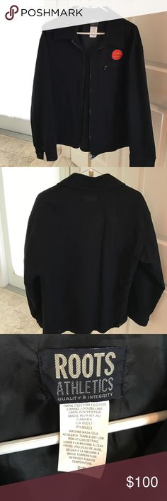 Lucky Louie, Men's Crew Jacket Brand New, Lucky Louie HBO Crew Jacket, black with Show Logo and HBO Logo embroidered on the back, these were gifts from Louie CK to his production crew Roots Athletic Jackets & Coats Lightweight & Shirt Jackets
