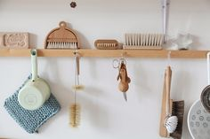 Organizing with cup hooks over your sink - ae blog
