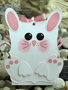 Cutest Easter bunny basket ever!