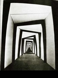 "Set design for the 1920 film ""Das Cabinet des Dr. Caligari"" (The Cabinet of Dr. Caligari)"