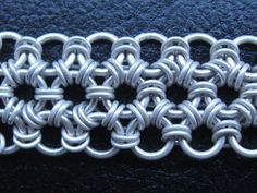 Japanese 12 in 1 Chainmaille Tutorial Pattern by Cristian Badea Featured in Handmade Jewelry Club