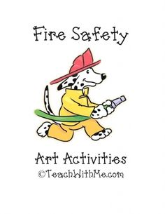 Fire Safety Art Activities Book
