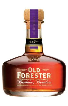 Old Forester Birthday Whisky Cigars And Whiskey, Scotch Whiskey, Bourbon Whiskey, Whiskey Bottle, Bourbon Alcohol, Tennessee Whiskey, Vodka, Tequila, Alcohol Bottles