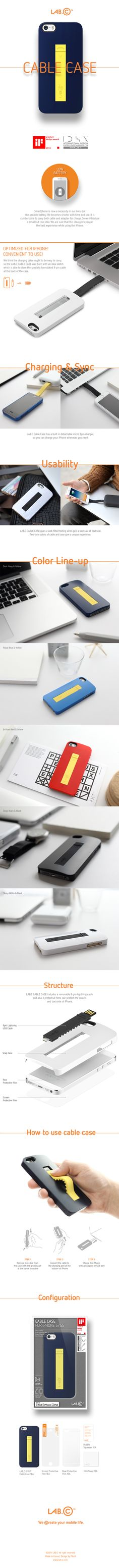 LAB.C Cable Case Product Design on Industrial Design Served