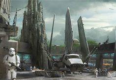 Star Wars Lands Coming to Disney World and Disneyland