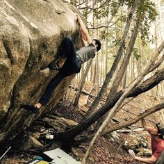 Top Out climbing bouldering
