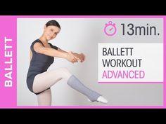 Ballett tanzen lernen & trainieren - Lounge Dance Workout für Fortgeschrittene - Tanz mit Anna - HD - YouTube