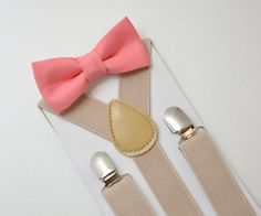 OPTIONS: If you need bow tie+ suspenders together , please select SET and bow tie attachment you need ( bar pin , alligator clip or straps around neck ). In the Drop Down menu - please select size you need . PS! You can select RUSH MY ORDER - and we will process and ship your order within 1 business day (instead of 2-3 business days ) PLEASE CHOOSE SET if you need bow tie & suspenders together . IF YOU PURCHASE SUSPENDERS ONLY - BOW TIE NOT INCLUDED! BOWTIES : 8 months - 2Years BOW TIE - ...