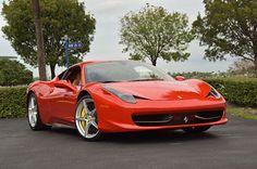 2013 Ferrari 458 Italia,561HP,Daytona's,Shields,Carbon-LED Steering Wheel,AFS