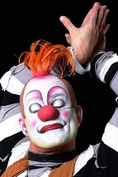 Cirque du Soleil clown via Marcos Casuo