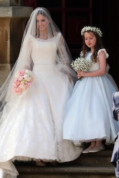 Geri Halliwell Wedding: Spice Girls Debuts Dress Before Marrying Christian Horner In Church Ceremony (PICS)