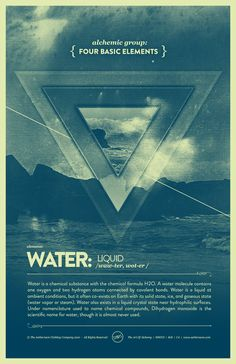 "Elements Water:  ""Vintage Series: Four Basic #Elements - #Water,"" by Raul Esquivel."