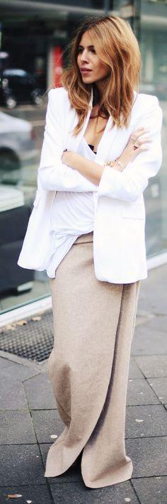 Floor Length Skirt Fall Inspo by MAJA WYH