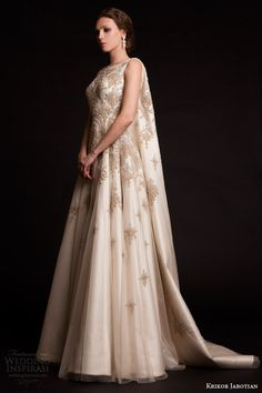 Krikor Jabotian Spring 2015 Dresses — The Last Spring Collection | Wedding Inspirasi #fashion #couture #bridal #wedding #weddings #weddingdress #weddinggown