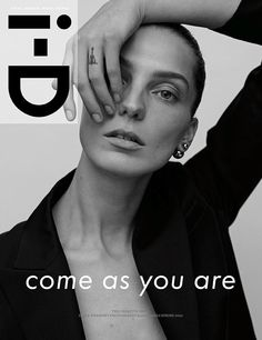 Daria Werbowy by Karim Sadli i-D April 2014
