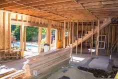 Gutting the inside for a new fresh design. #construction #art #remodel #homerenovations #seattle #ballard #washington
