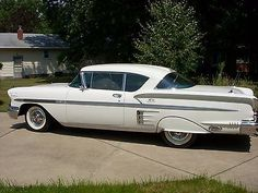 1958 Chevrolet Impala - Used Chevrolet Impala for sale in Youngstown, Ohio 1954 Chevy Bel Air, 1958 Chevy Impala, Chevrolet Impala, Impala For Sale, Impalas, Pontiac Grand Prix, Model Car, Car Detailing, Amazing Cars
