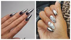 Zrkadlo manikúra gél na nechty: 5 spôsobov, 50 vzorov | beautysummary