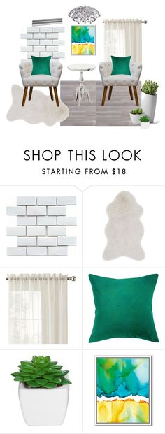 """015"" by tanya-nickolaeva on Polyvore featuring interior, interiors, interior design, дом, home decor, interior decorating, Merola, Loloi Rugs, Home Decorators Collection и Vivaraise"