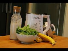 Batido de espinaca con MioMat - YouTube Kettle, Kitchen Appliances, Youtube, Almond Milk, Soup Bowls, Veggies, How To Make, Recipes, Pour Over Kettle