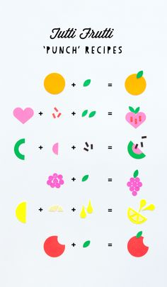 Tutti Frutti 'Punch' Tags Recipes