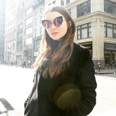 NY fashion week . . #알리마이클#ali_michael #paparazzi #snap #2015fw #fashionweek #newyork #sunglasses #cateye #gentlemonster #streetfashion #fashion #젠틀몬스터#imgmodel