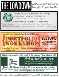 Get the Lowdown for the week of Sept. 24, 2012.