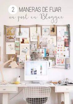 Como fijar un post o entrada en un blog de Blogger