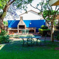Relax in our beautiful garden. www.3marion.co.za Beautiful Gardens, Gazebo, Relax, Outdoor Structures, Cabin, House Styles, Home Decor, Kiosk, Decoration Home