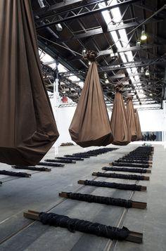 Jannis Kounellis at Tramway Modern Art, Contemporary Art, Instalation Art, Artistic Installation, Italian Art, Land Art, Conceptual Art, Retail Design, Artist Art