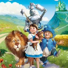 """""""Wizard of Oz"""" illustration by Tatiana Doronina"""