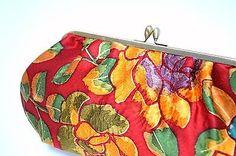 Luxury Clutch Purse handmade from high grade 'Shibori' kimono. Clutch Purse, Coin Purse, Tokyo Guide, Kimono Japan, Shibori, 1950s, Zen, Handbags, Silk