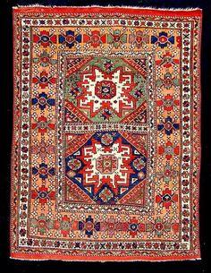 Bergama carpet, ca. 1870.