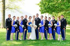 If you love the class and style of the 1940s, then you're going to obsess over this stunning West Point wedding!