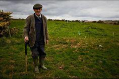 Gaelic Soccer Team Stops To Help An Aging Farmer Keep Company, Irish People, Erin Go Bragh, Winter's Tale, My Heritage, Young Man, Farmer, Ireland, Photography