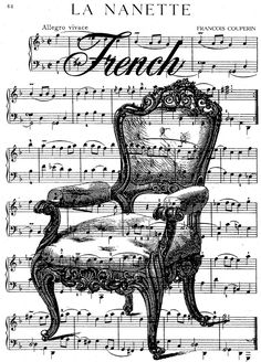 French Chair Collage