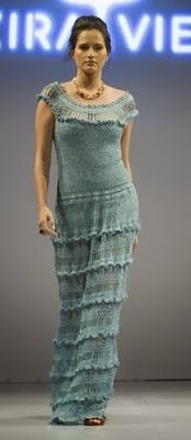 Он-лайн платье Мануэла от Alzira Vieira - Вяжем вместе он-лайн - Страна Мам
