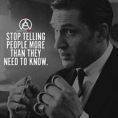 ...I need to take this advice...