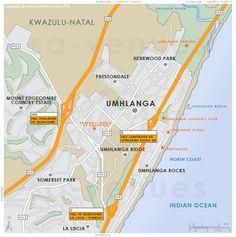UMHLANGA Map