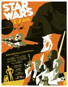 Beautiful Modern Vintage Illustration by Tom Whalen -- so excited about this trend. Love modern vintage.