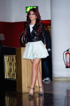 Cheryl Cole in Antonio Berardi Resort 2011 , ,  #Antonio Berardi #Cheryl Cole