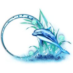 cadres vides pr t a utilis - Page 18 Circle Tattoos, Body Art Tattoos, Dolphin Art, Dolphin Painting, Dolphins Tattoo, Doodle Art Journals, Leaf Template, Delphine, Mosaic Wall