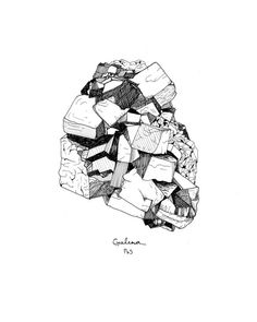 Mineral Drawing.