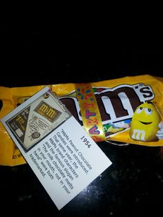 """M&M peanut. Coined phrase """" melt in your mouth..."""" In '54"""