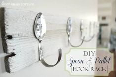 """75 Clever Dollar Store Ideas That Will Have You Saying, """"How'd They Think Of That? Dollar Store Hacks, Dollar Store Crafts, Dollar Stores, Earring Hanger, Necklace Hanger, Crayon Organization, Jewelry Organization, Dollar Store Mirror, Diy Wood Shelves"""