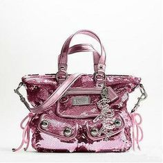 Coach sequin handbag
