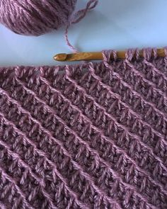 Tunisian Crochet Stitches, Crochet Stitches Patterns, Crochet Flower Patterns, Crochet Art, Crochet Cross, Cute Crochet, Crochet Designs, Knitting Patterns, Afghan Patterns