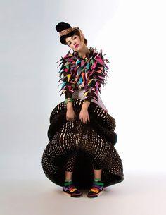 Andrea Saltzman - estudo em roupas perfomáticas